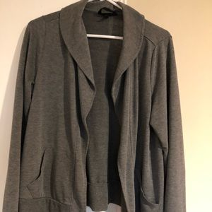Torrid gray Knit Jacket with pockets